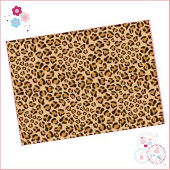 Leopard Print Edible Printed Sheet - Design 1