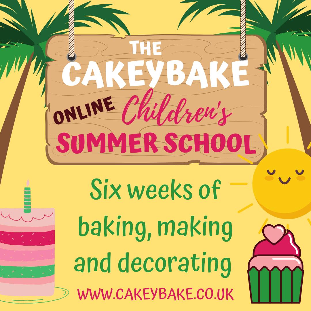 Children's Summer Cake School!