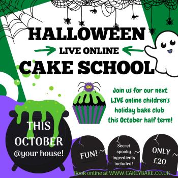 Children's Halloween Cake School!