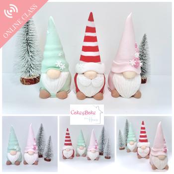 Christmas Gnome Cake Class - an online class