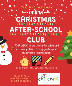 Children's Online Christmas After School Club!