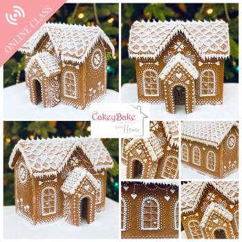 Christmas Gingerbread House Class - an online class