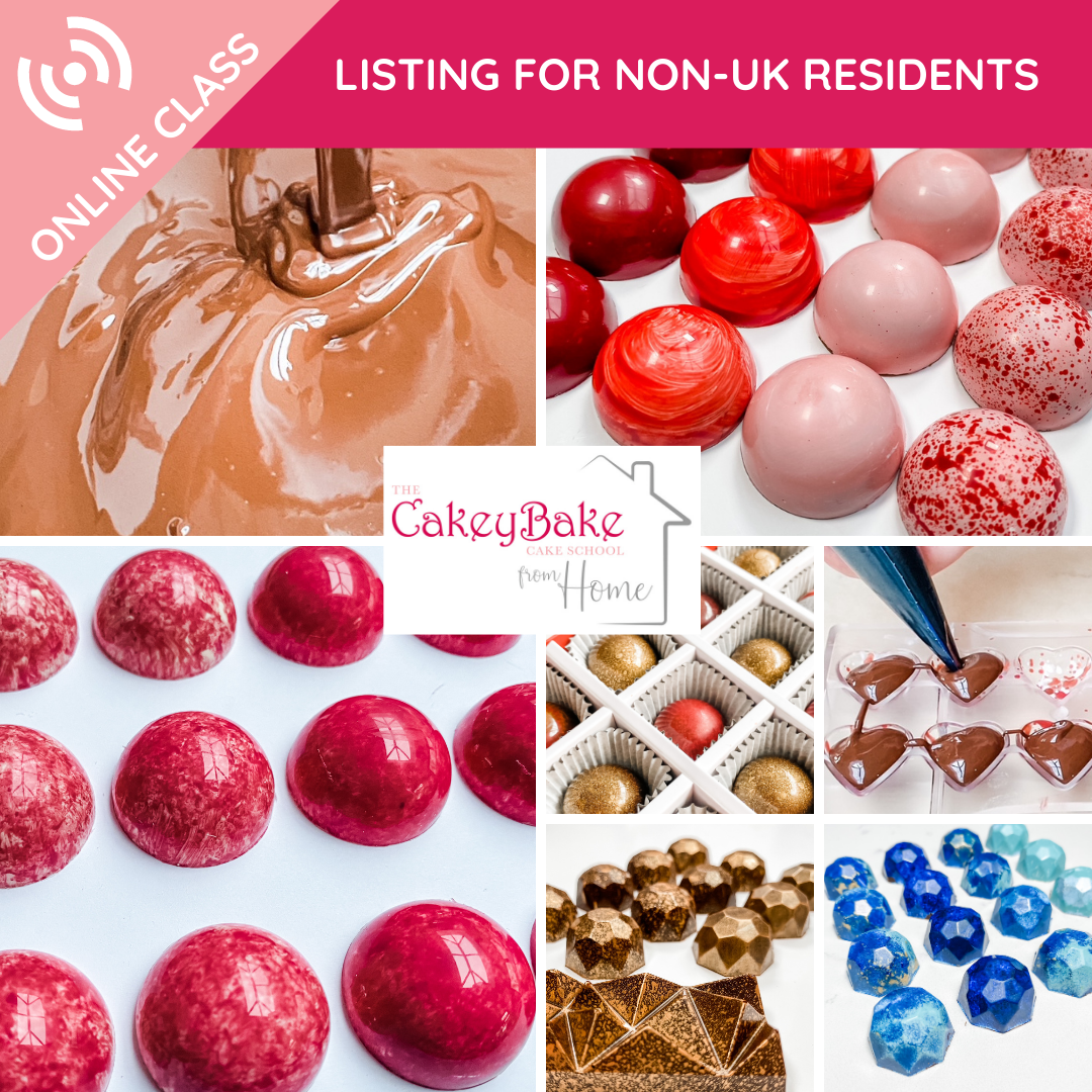 The Online Chocolate Class - Non UK Residents