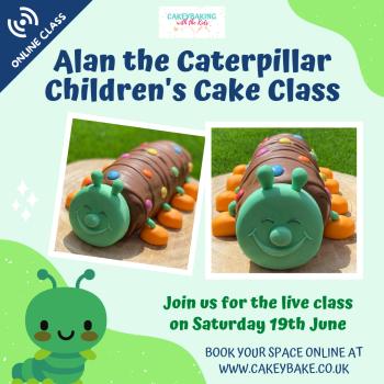 Alan the Caterpillar Class - online class