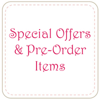 Special Offers and Pre-Order Items