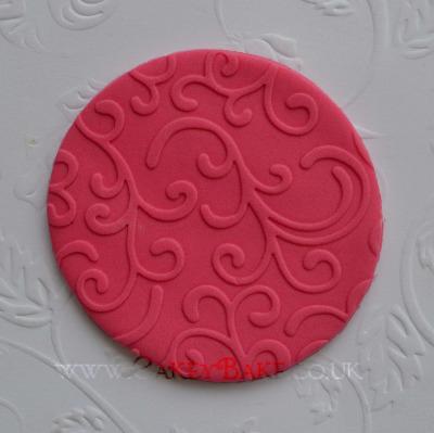 Embossing Mat - Swirl Pattern
