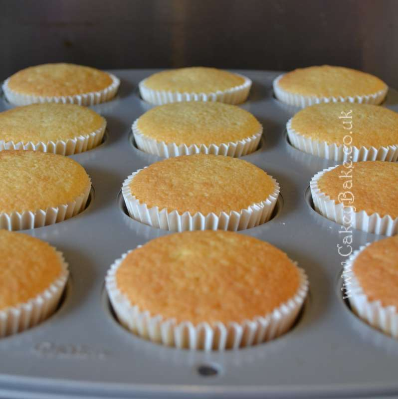 Flat Topped Cupcakes Recipe