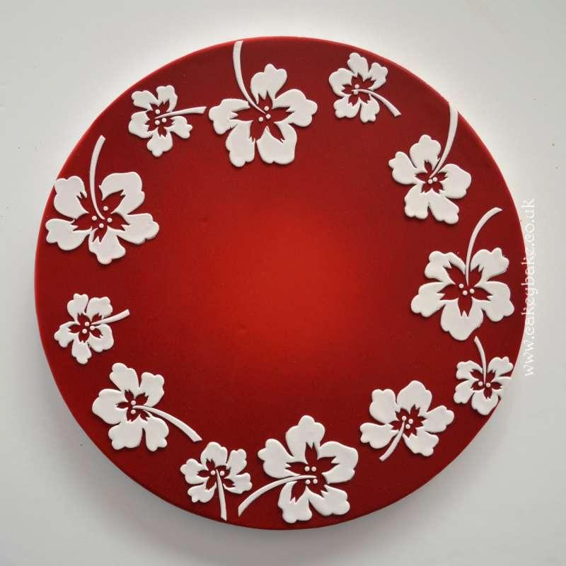 CakeyBake Tutorial - Hawaiian Hibiscus Flowers