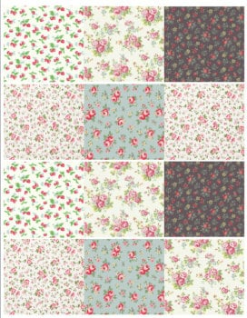 Edible Icing Sheet - Mini Designer Logo Icing Sheet Cath Kidston Style Designs