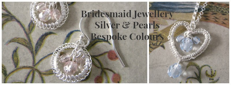 bridesmaid silver jewellery