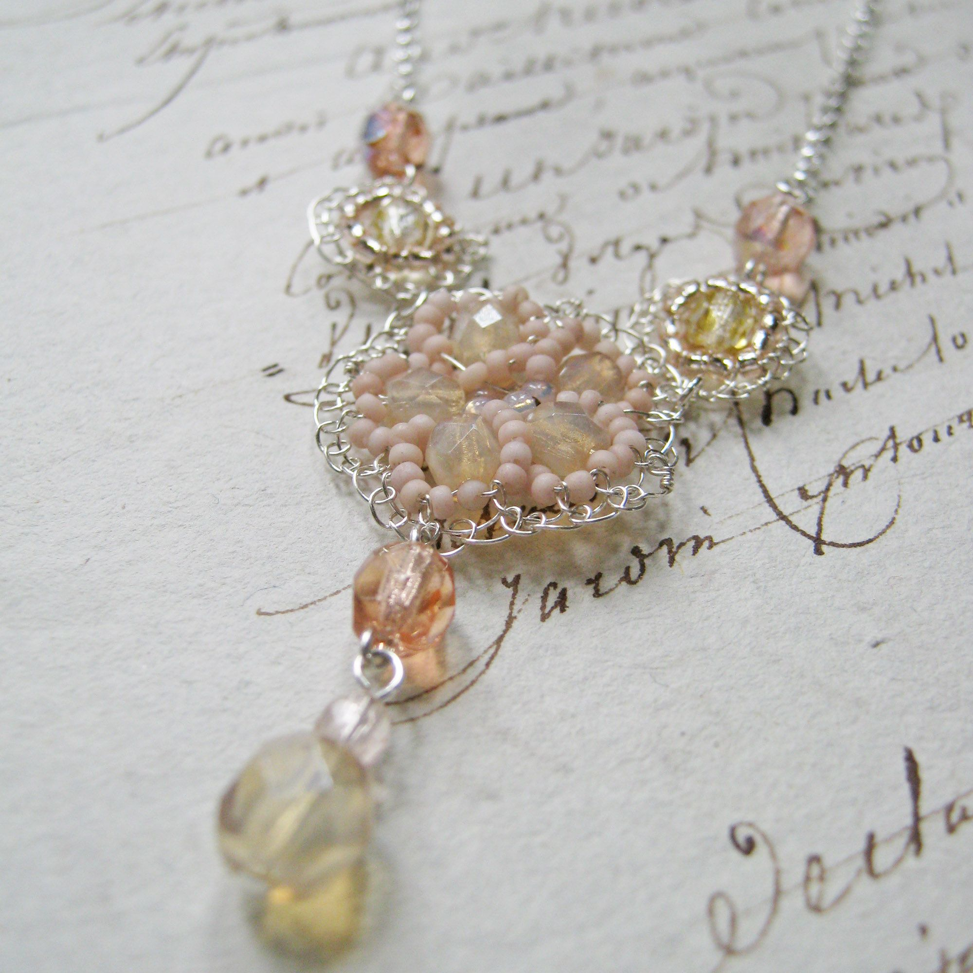 Choose bespoke colours for your bridal jewellery