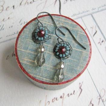 Opulence Earrings - More Colours