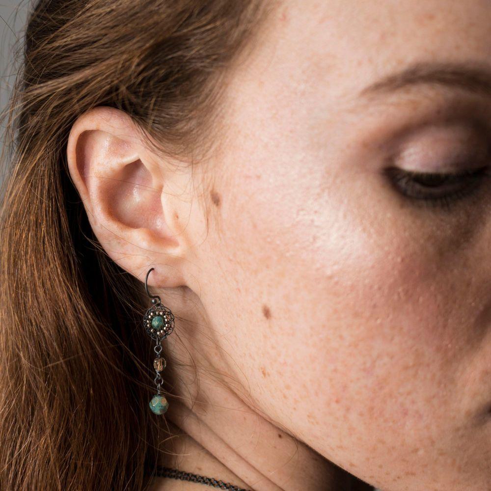 Long Opulence Earrings