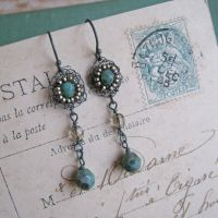 Long Opulence Earrings - More Colours