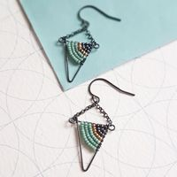 <!-- 001 -->Geometric Earrings