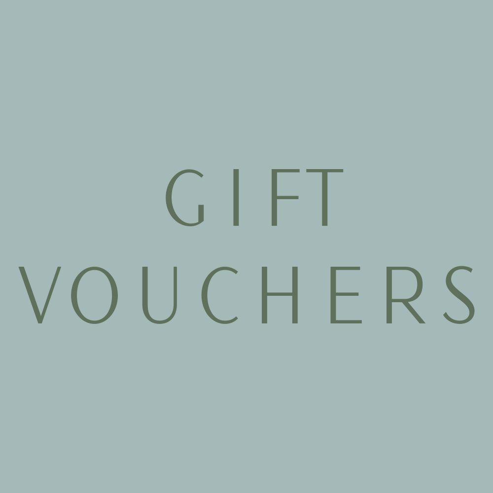 <!-- 002 -->Gift Vouchers