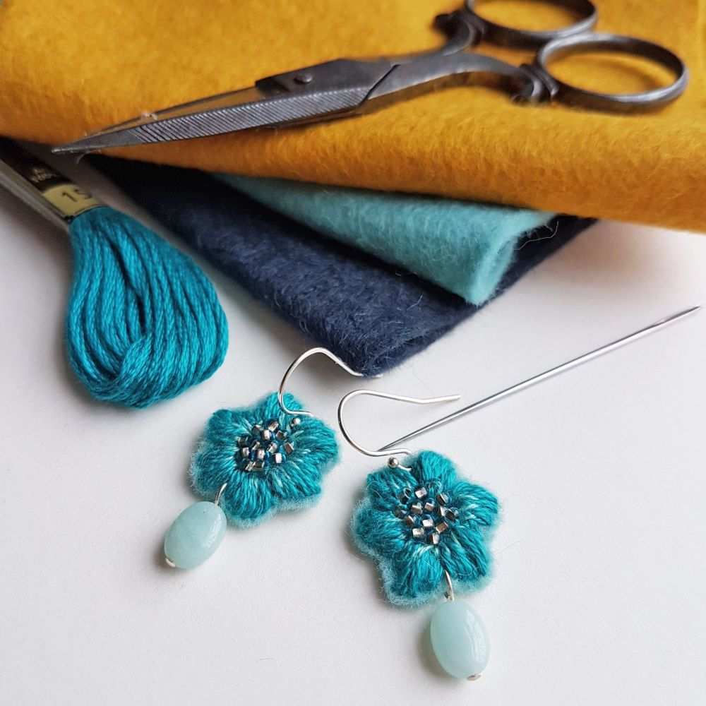At My Studio - Embroidered Accessories