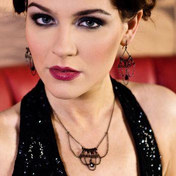 Catherine chandelier necklace