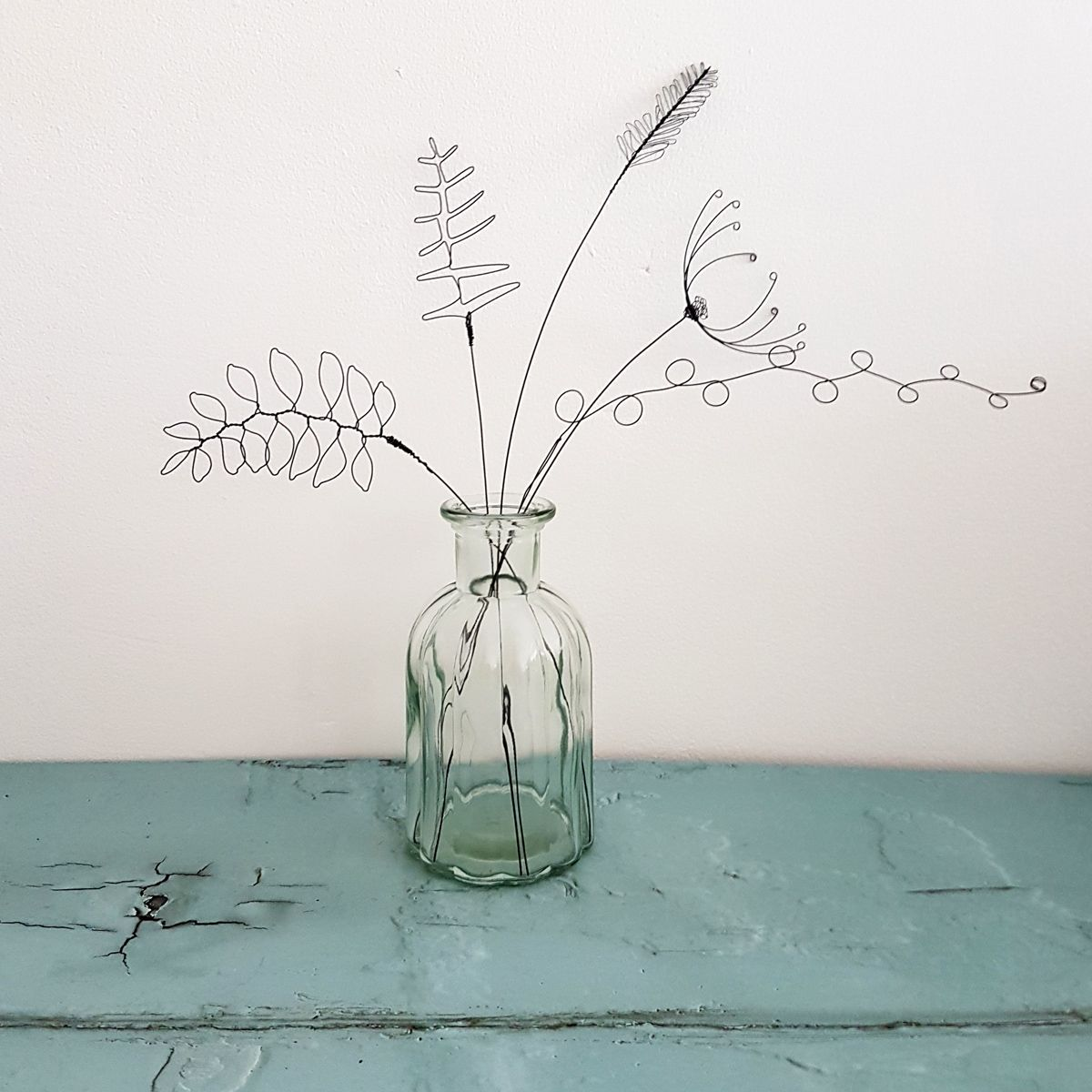 Wire meadow grasses by Judith Brown Jewellery