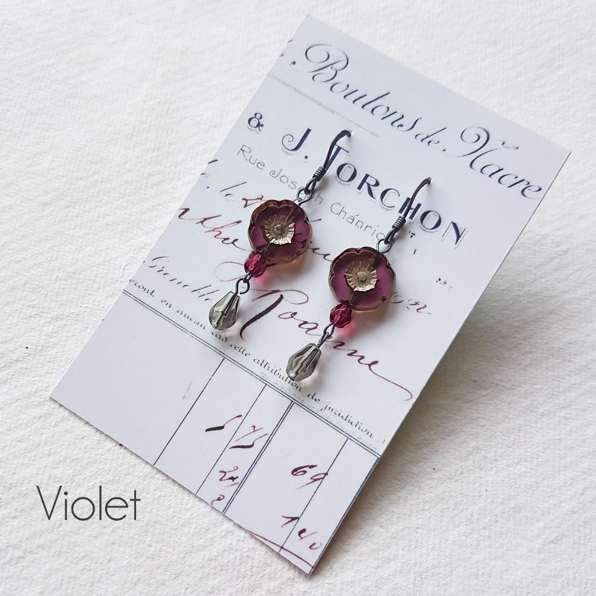 Bohemia Flower earrings