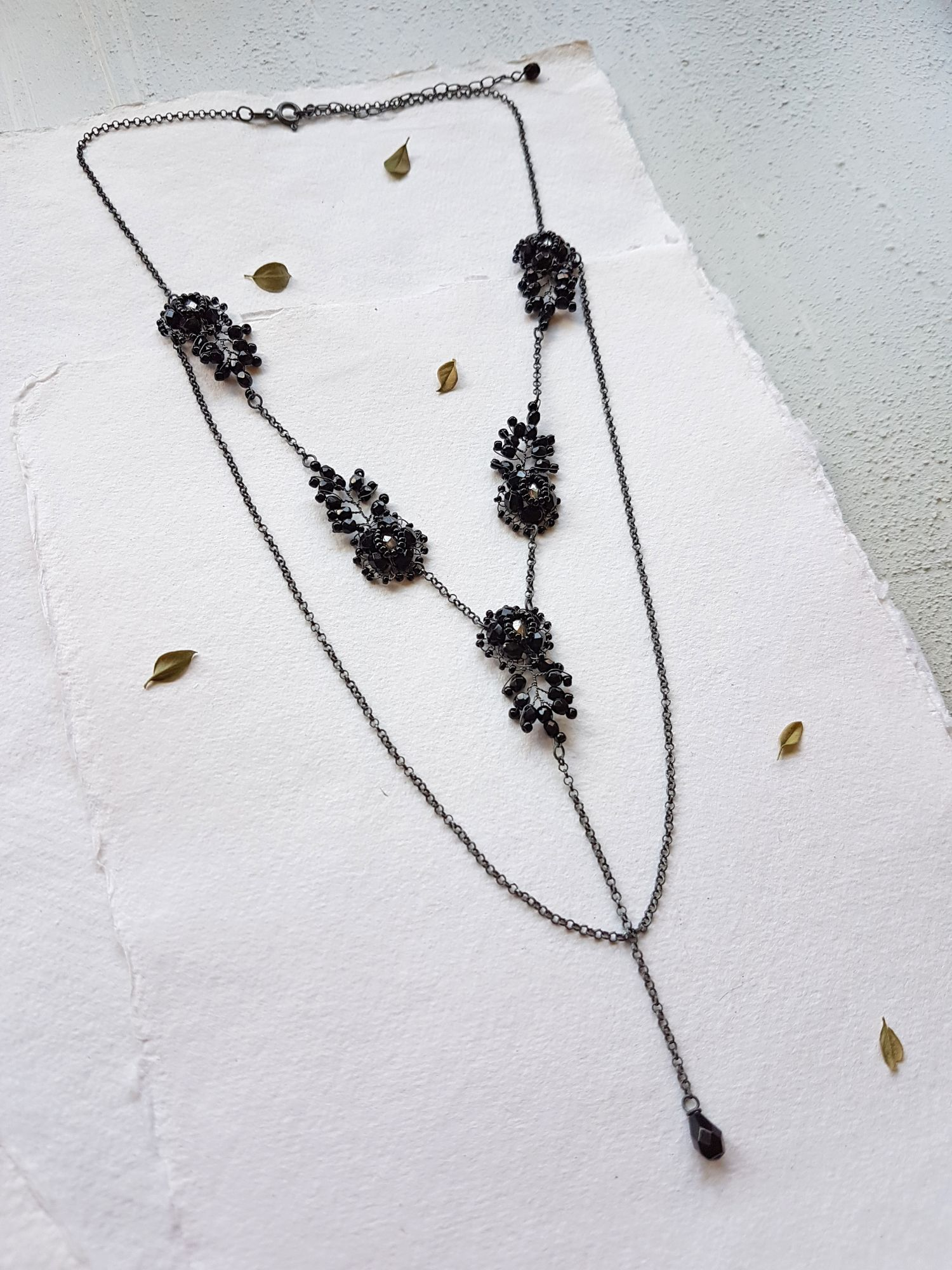 Statemnet necklace by Judith Brown