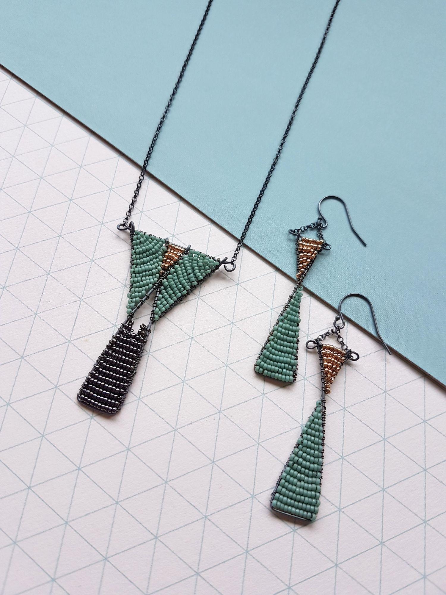 Art Deco Geometric Judith Brown Jewellery