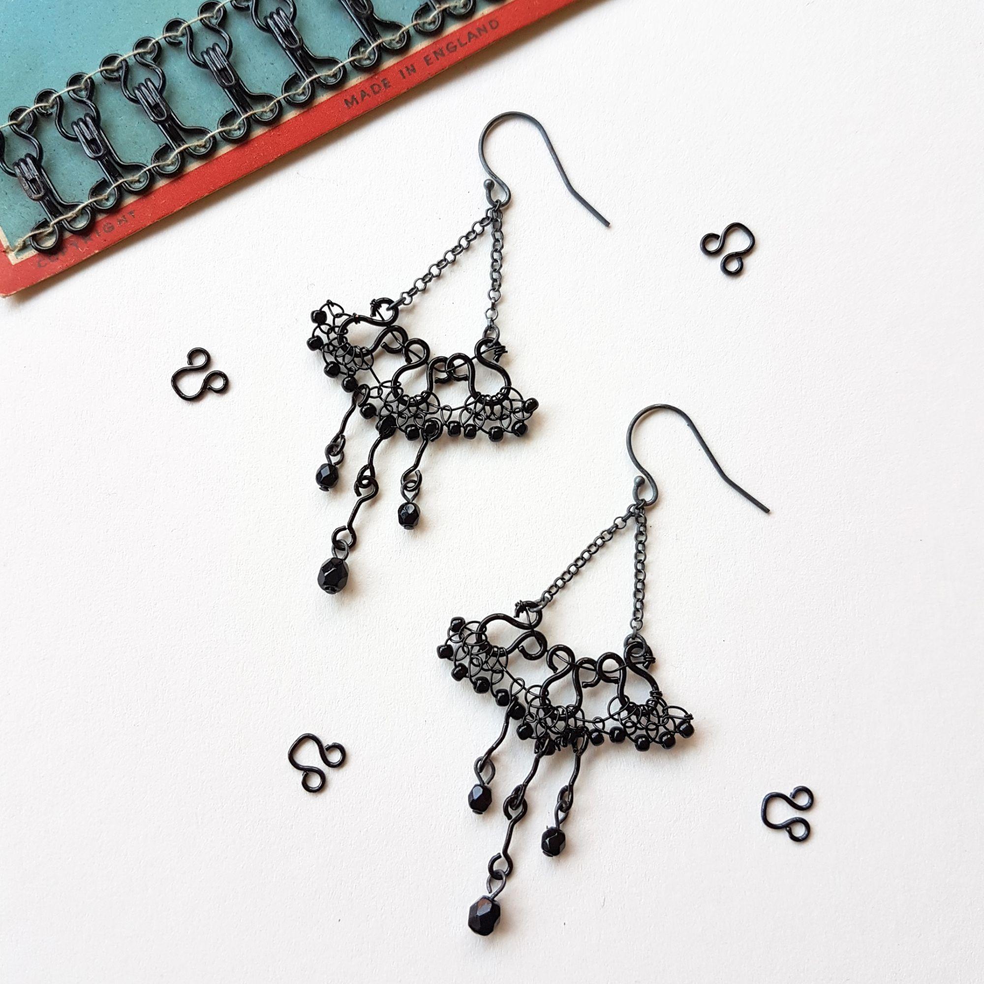 Chandelier earrings Judith Brown Jewellery