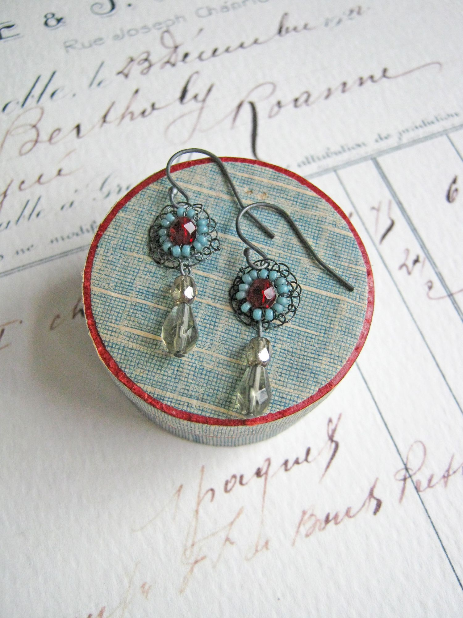 Earrings by Judith Brown Jewellery