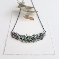 Detailed Foliage Necklace - More Colours