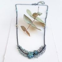 Foliage Garland Necklace - More Colours