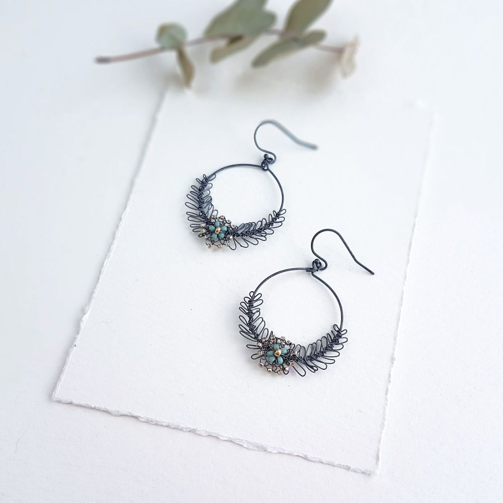 Garland Earrings - More Colours