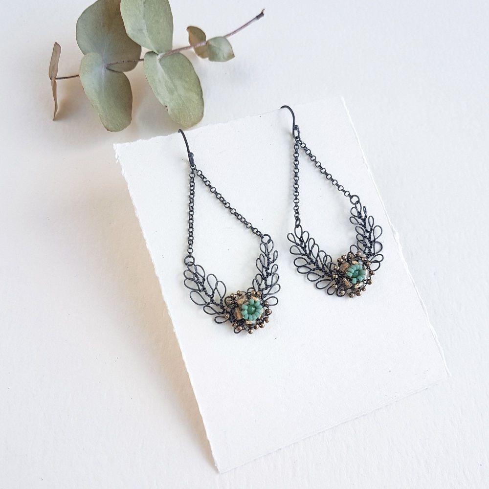 Foliage Chandelier Earrings - More Colours