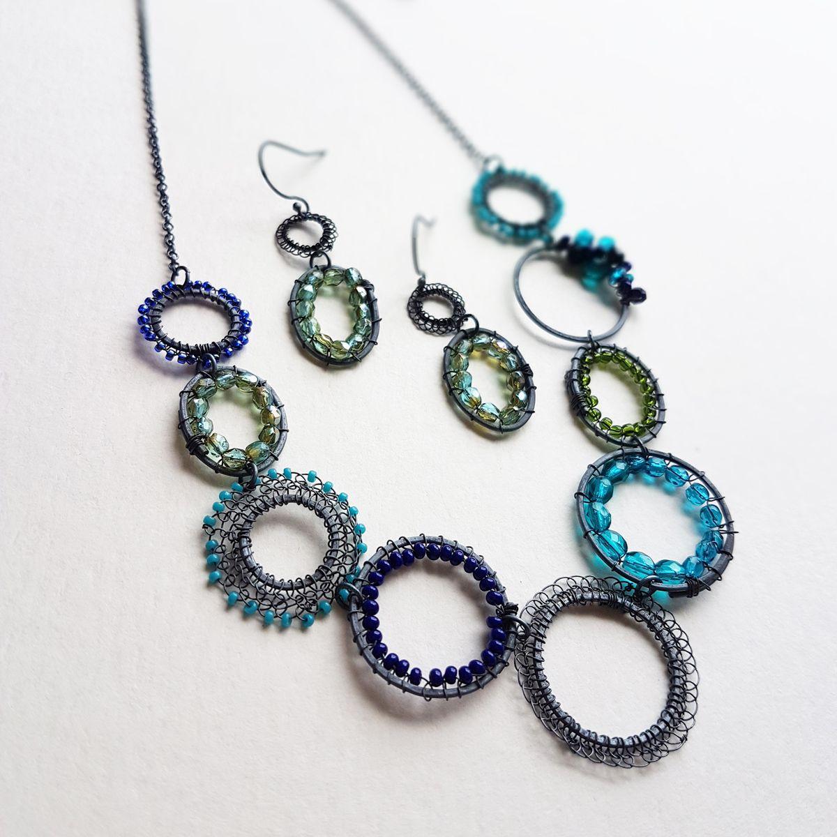 colour inspired bespoke jewellery