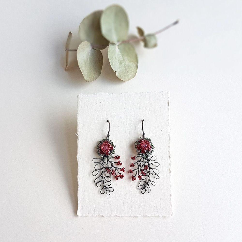 Foliage Earrings - More Colours