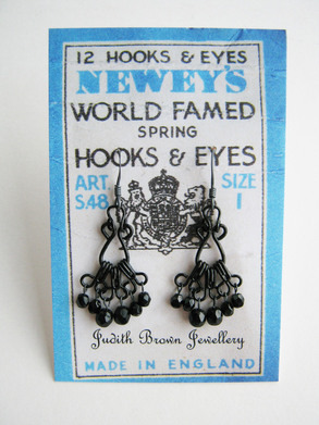 New vintage hook earrings