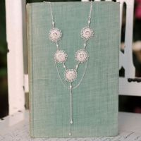 Anemone Lace Statement Necklace
