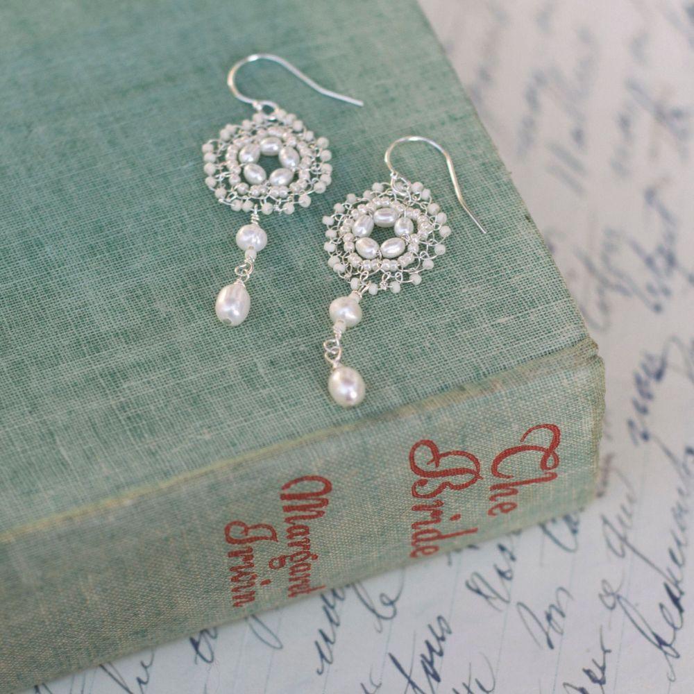 Pearl Opulence Earrings