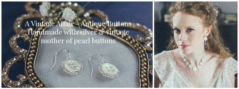 A Vintage Affair - Antique Buttons