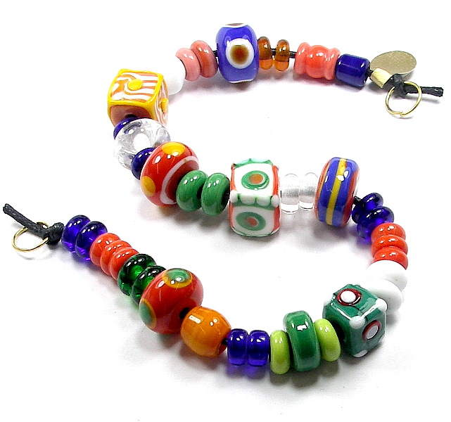 Migration-era beads Set 5
