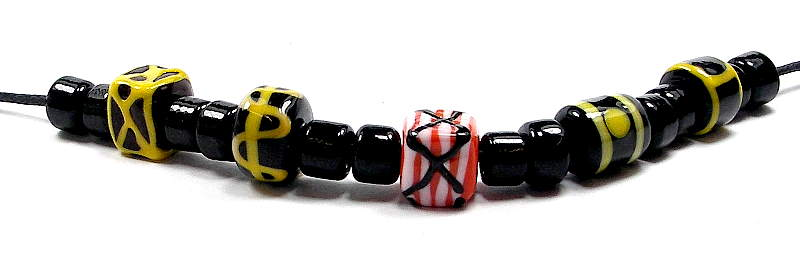 Migration-era beads Set 7a