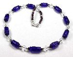 Fortuna - cobalt blue beads based on Roman examples