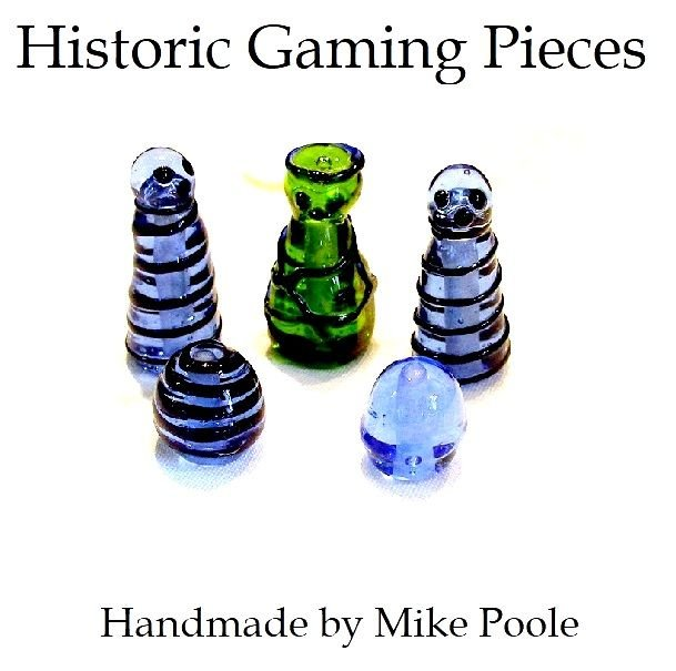 3. Historic Gaming Pieces and Boards
