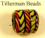 Anglo-Saxon bead based on the find from Buckland Grave 92, from Dover, Kent
