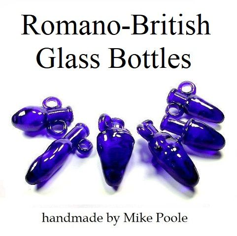 B2. Romano-British glass bottles