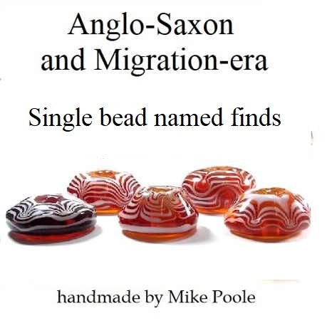 Anglo-Saxon Named grave finds - individual beads