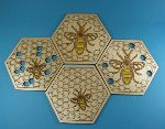 Bees - coasters