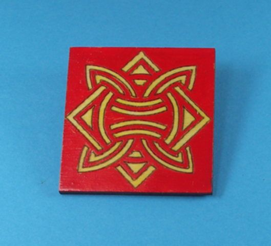 Painted Brooches - JLM