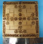 Hnefatafl board 7x7  with Borre-style artwork