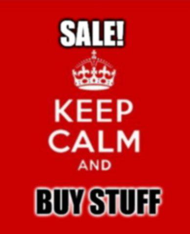 Sale items Half Price