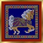 Small Carousel Horse  - Palomino